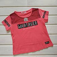 Стильная футболка для девочки Размер 128 140 152 158