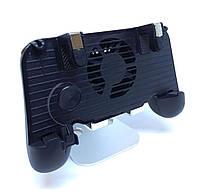 Геймпад для смартфона с охлаждением MGC F1+ 2000mAh (для PUBG Mobile) Black, фото 1