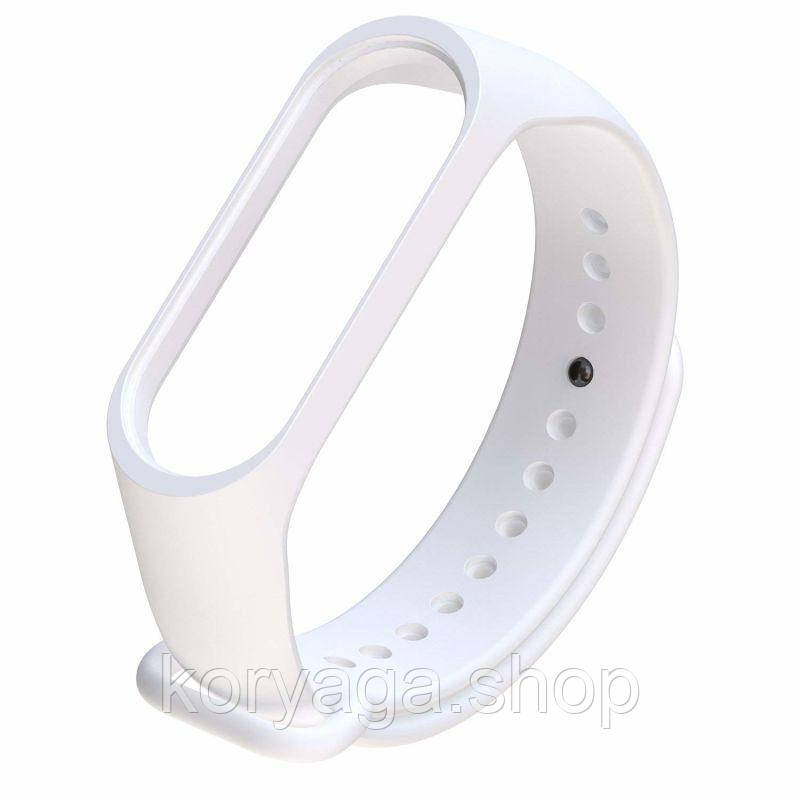 Ремешок для фитнесс браслета Xiaomi Mi Band 3/4 White