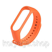 Ремешок для фитнесс браслета Xiaomi Mi Band 3/4 Orange