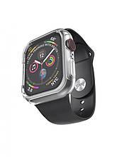 Pемешок Hoco WB09 (с бампером) для Apple Watch Series 1/2/3/4 (38/40mm) Black