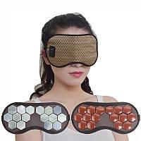 Накладка на очі нефритова 2 в 1 Eye Care з температурним пультом