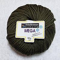 100% шерстяная пряжа MegaSchachenmayr Nomotta Германия, разные цвета, сиреневый Темно-болотный