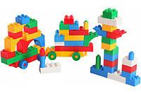 Детский конструктор Wader 50 деталей 39094