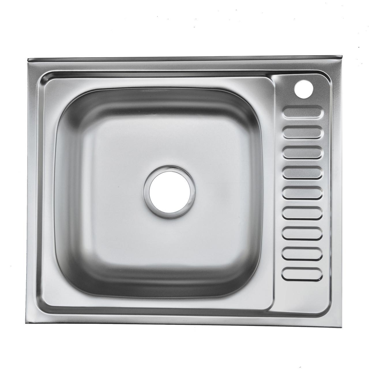 Мойка из нержавеющей стали 05мм Platinum 6050 satin