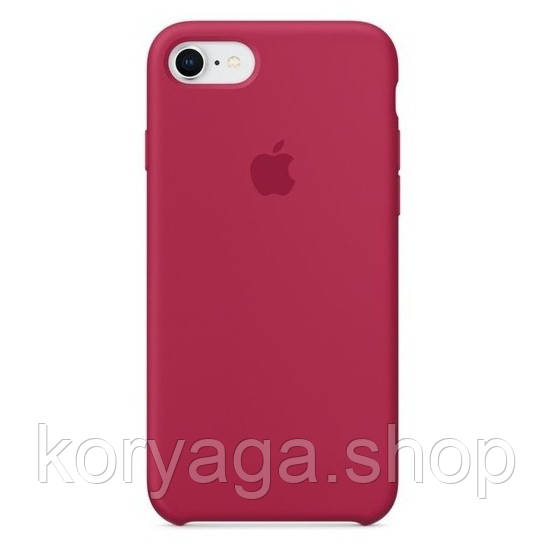 Чехол HC Silicone Case для Apple iPhone 7/8 Rose Red Без бренда