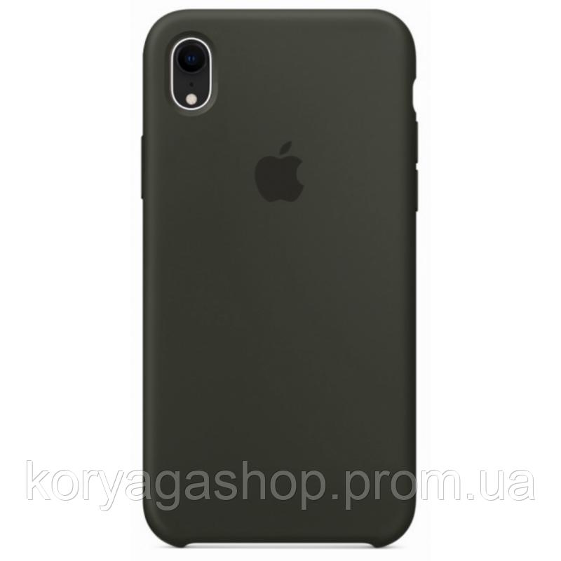 Чехол HC Silicone Case для Apple iPhone XR Olive Без бренда