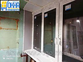 Остекление балконов Гостомель, фото 3
