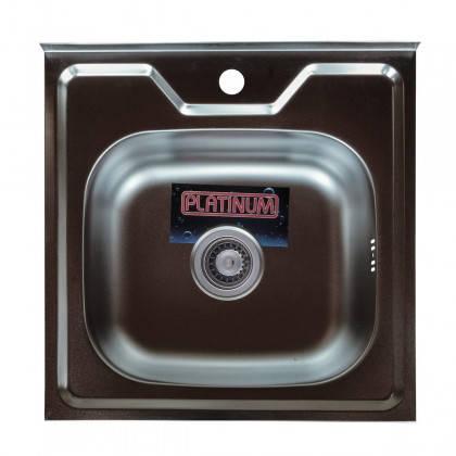 Мойка из нержавеющей стали 07мм Platinum 5050 satin, фото 2
