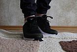 Стильные мужские зелёные кроссовки сетка. Стильні чоловічі зелені кросівки сітка., фото 3