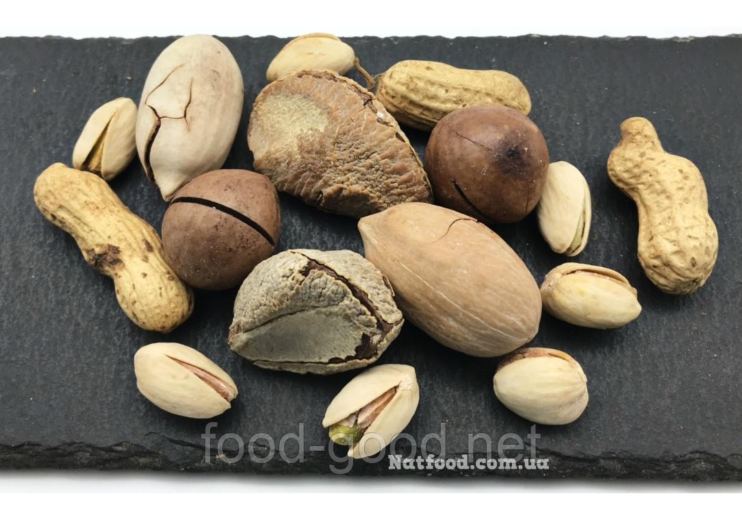 Орехи жареные в скорлупе микс, 1кг