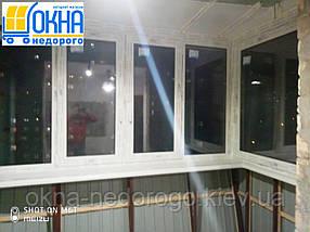 Остекление балконов Васильков, фото 3