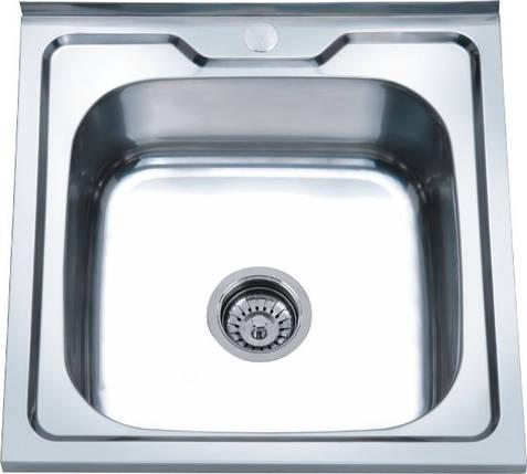 Мойка из нержавеющей стали 07мм Platinum 5050 polish, фото 2