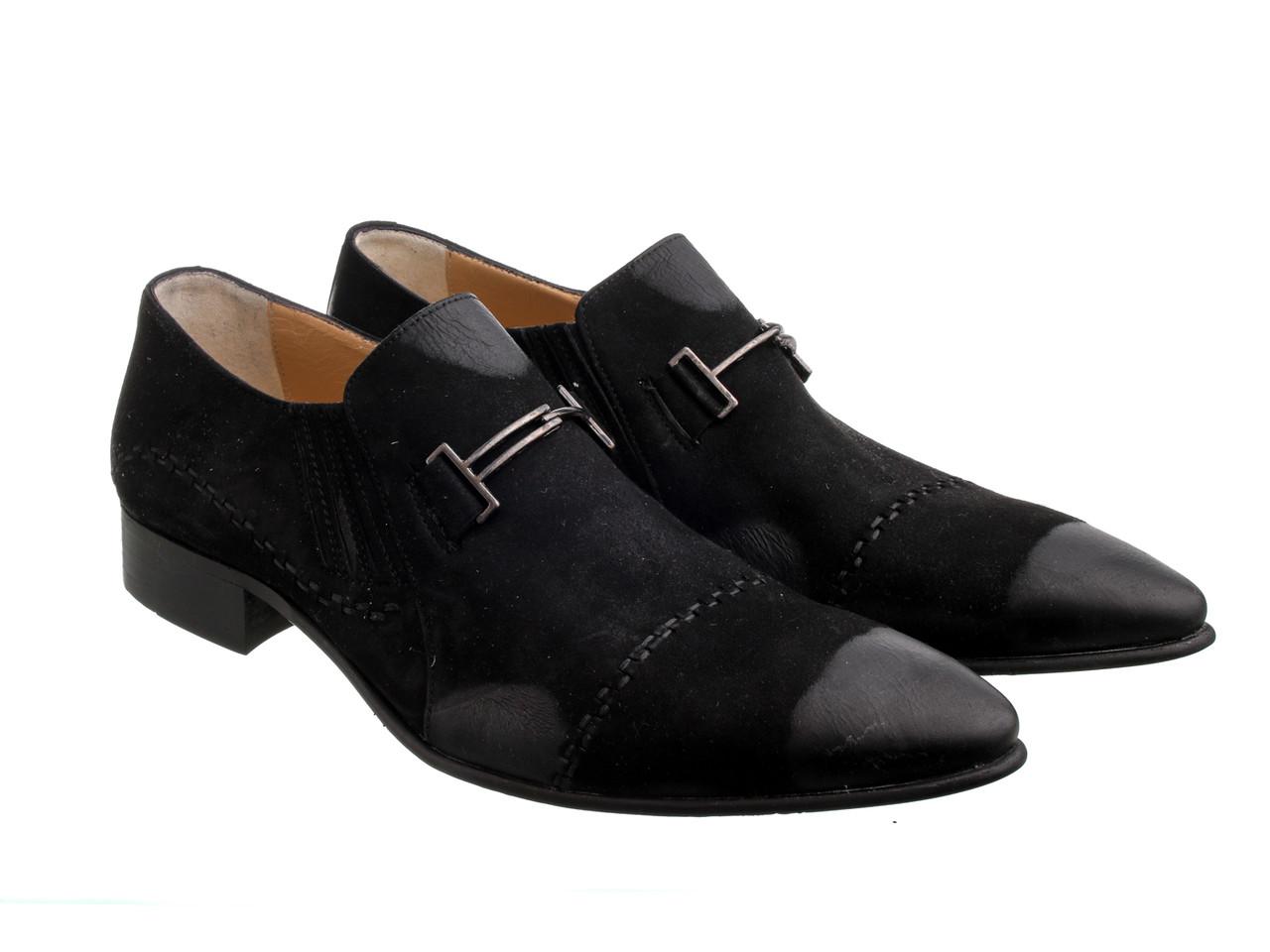 Туфли мужские Еtor 4812  43 черные