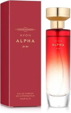 Жіноча туалетна вода ALPHA for her 50 мл, Ейвон Альфа для неї, Avon