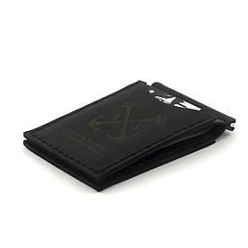 Зажым для купюр - Anchorstuff - Holder #1 Black (затискач для банкнот)