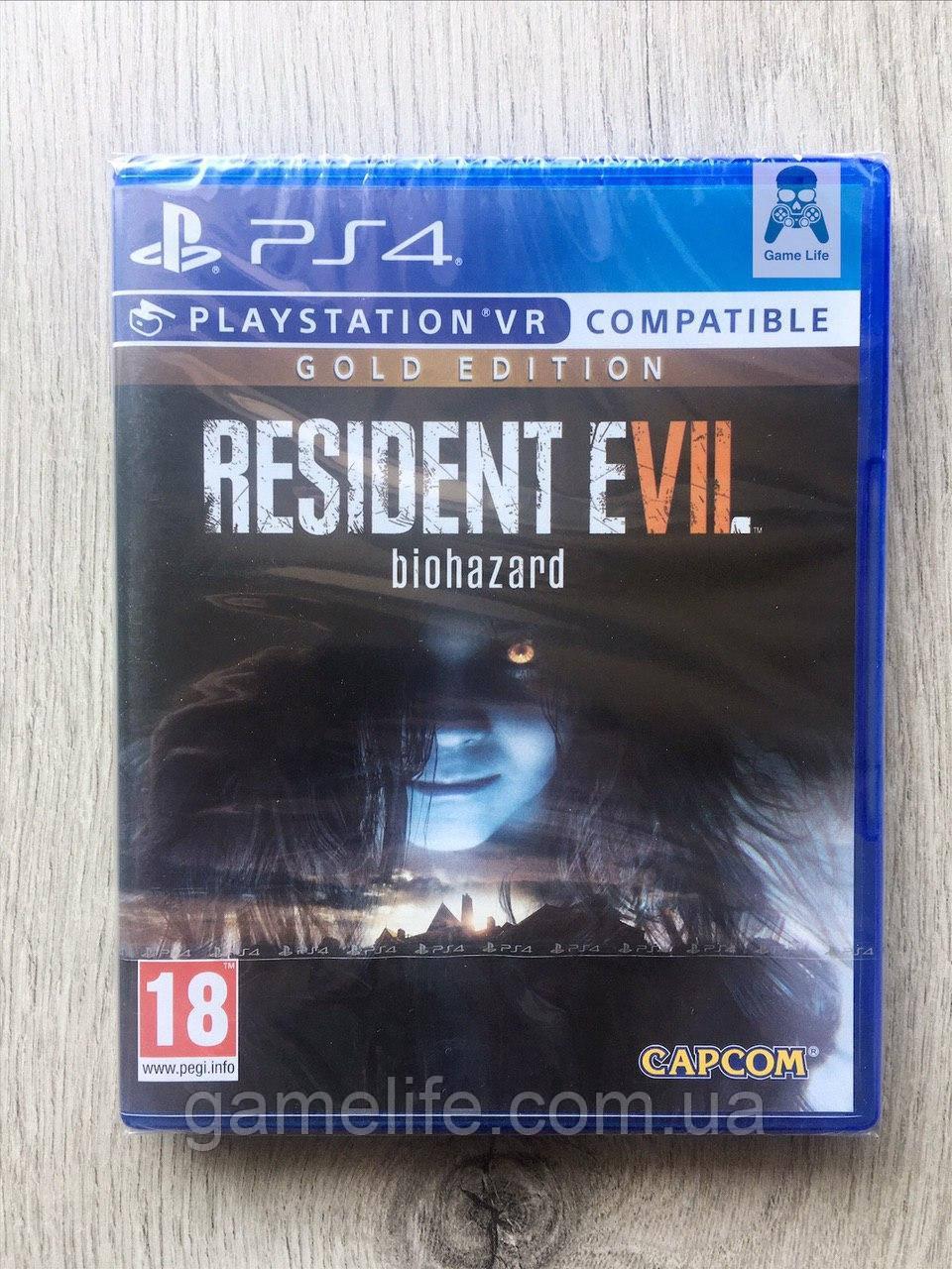 Resident Evil 7 Biohazard Gold Edition (рус. суб.) PS4