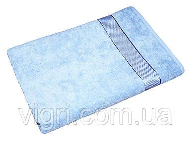 Рушник махровий Азербайджан, 50х90 див., світло-блакитне
