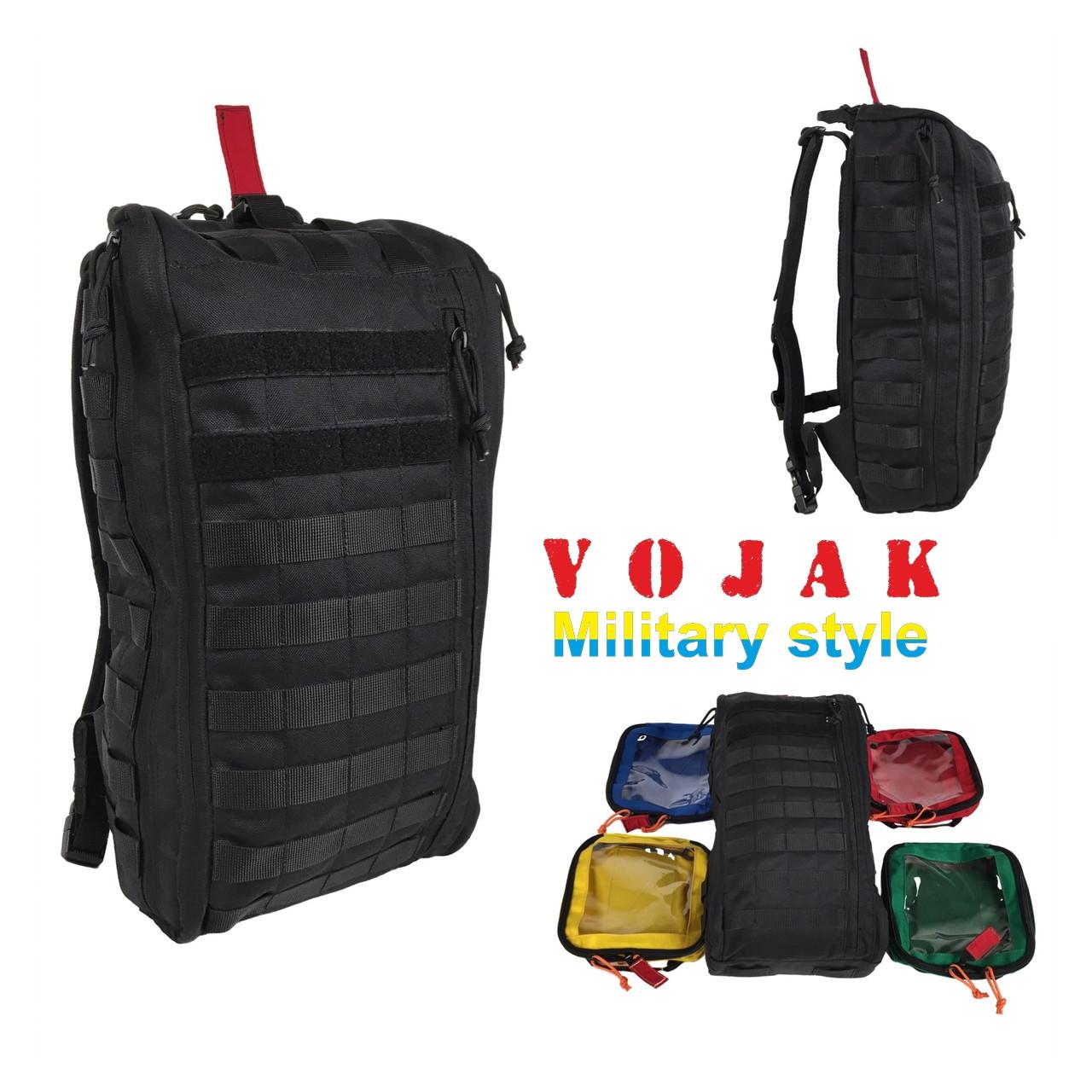 Рюкзак медицинский РМК (Black)