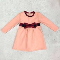 Нарядное платье для девочки демисезон Клетка