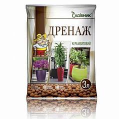"""Дренаж керамзитовый""""Садівник"""", 3 л"""