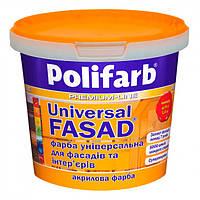 Акриловая Краска для фасада Polifarb Універсалфасад 14 кг