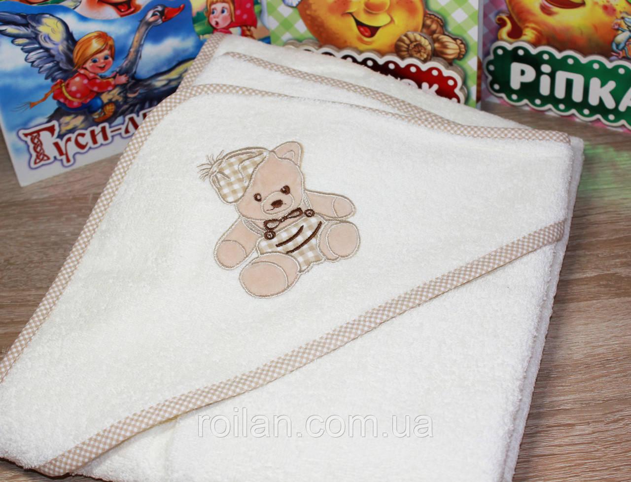 Детский капюшон для купания Мишка