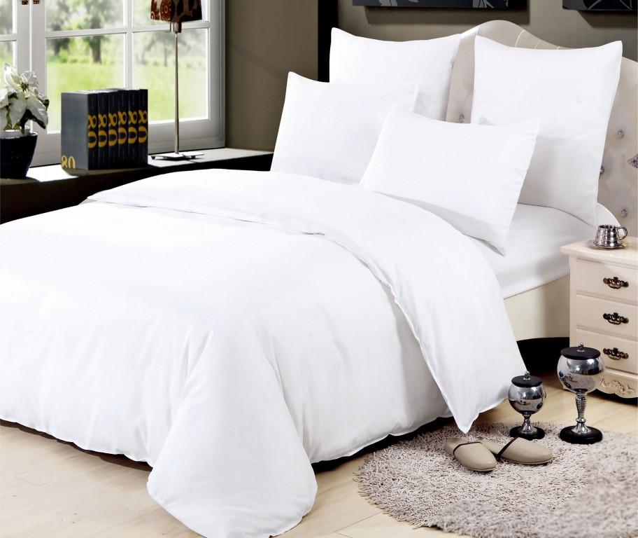 Двуспальный комплект постельного белья евро 200*220 хлопок  (14385) TM KRISPOL Украина