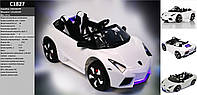 Детский электромобиль C1827 Белый