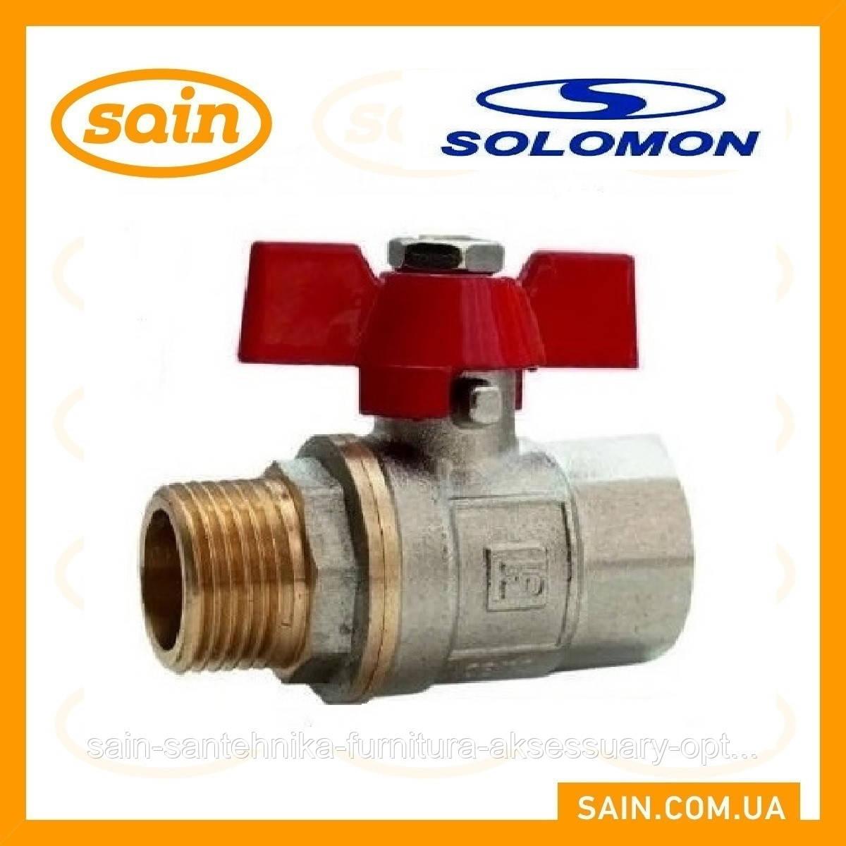 Кран 1 PN 40 Solomon