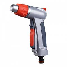 Пістолет для поливу сблокировкой пластиковій