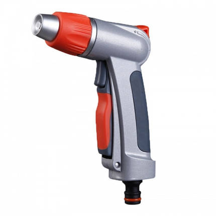 Пистолет для полива  сблокировкой пластиковій, фото 2