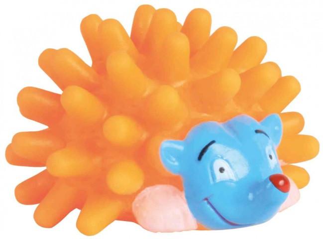 Игрушка для собак trixie ёж винил,7 см