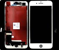 """Дисплей (модуль) для Apple iPhone 8 Plus (5.5"""") Белый Оригинал (Восстановленый)"""