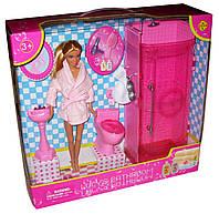 Мебель для Барби 8215 душевая комната