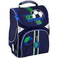Ортопедический каркасный рюкзак для мальчика в школу GoPack Education Football GO20-5001S-10