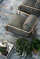 """Кресло """"Дон"""", кресло лофт, мягкое кресло, кресло для дома, офиса, кафе, кресло на металлическом каркасе,"""