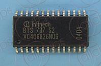 Ключ питания 4-канала 9мОм 11.1А Infineon BTS737S2 SOP28