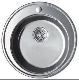 Мойка из нержавеющей стали 08мм Platinum 510 сатин, фото 2