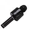 Портативный беспроводной микрофон-караоке Bluetooth WS 858 черный, фото 2