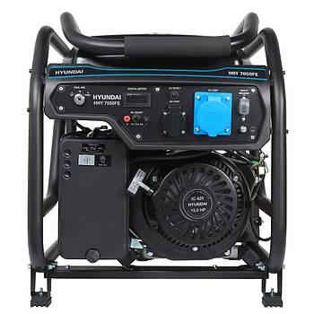 Генератор бензиновый Hyundai HHY 7050FE ATS