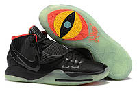 Баскетбольные кроссовки Nike Kyrie 6 Black/Red Реплика