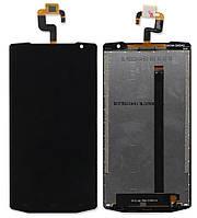 Дисплей (модуль) для Oukitel K10000 Черный
