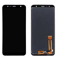 Дисплей (модуль) для Samsung Galaxy J6 Plus (2018) SM-J610F, J4 Plus (2018) SM-J415 Черный