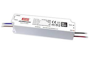"""Блок питания импульсный ПЛАСТИК JINBO 60W 12V (IP67, 5А) Series """"JLV"""""""