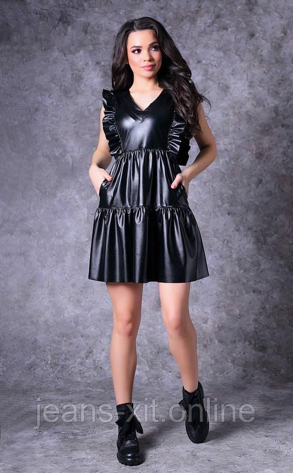 Платье женское 36(р) черное 8726 Poliit Украина Весна-C