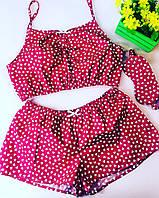 Женская Хлопковая Пижама. Одежда для дома и сна