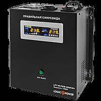 ИБП с правильной синусоидой LogicPower LPY-W-PSW-2000VA+ (1400W) 10A/20A 24V для котлов и аварийного освещения