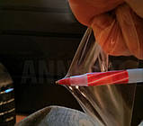 Авто пленка защитная Annhao прозрачная 30 x 100см антигравийная броне ударостойкая (AVp-004-100), фото 5