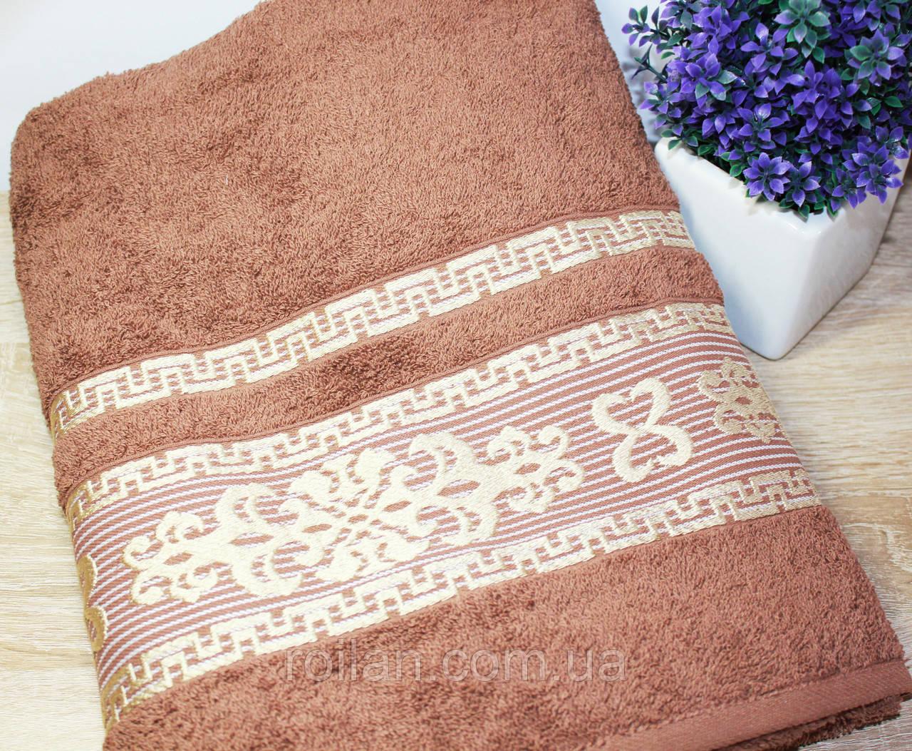 Банное турецкое полотенца Коричневый цвет